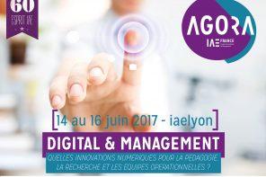 « Digital & Management : quelles innovations numériques pour la pédagogie, la recherche et les équipes opérationnelles ? ».